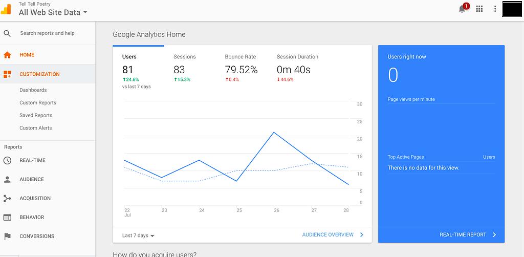 Google Analytics Overview