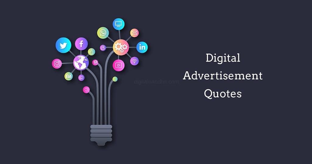 Digital Advertisement Quotes