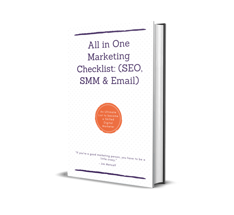 All in one Marketing Checklist: (SEO, SMM, & Email)